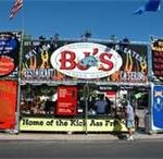 Bj's Barbeque At The Rib Cookoff