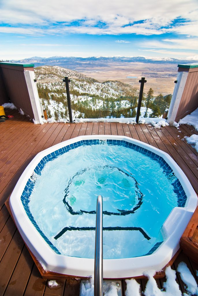 Onsite Roof Top Hot Tub