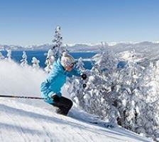 Diamond Ski Resort with Stunning Lake Tahoe Views
