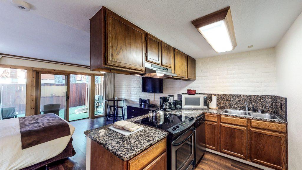 Lodges Studio Kitchen Area