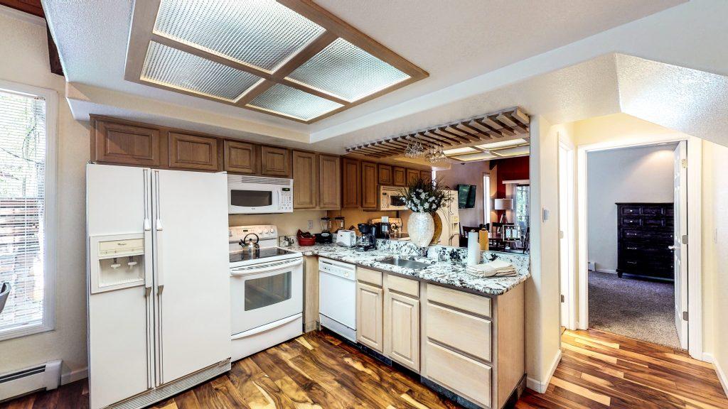 Villa Condo Second Floor Kitchen