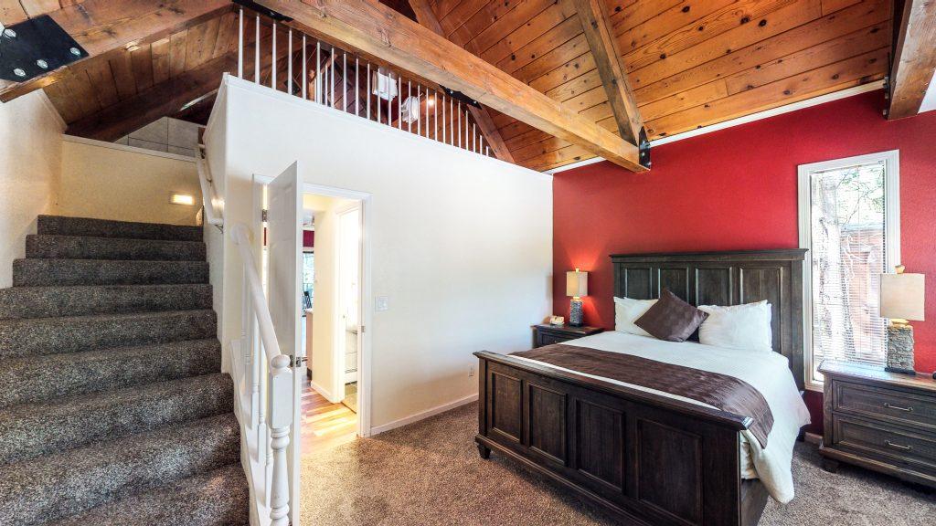 Villa Condo Second Floor Bedroom