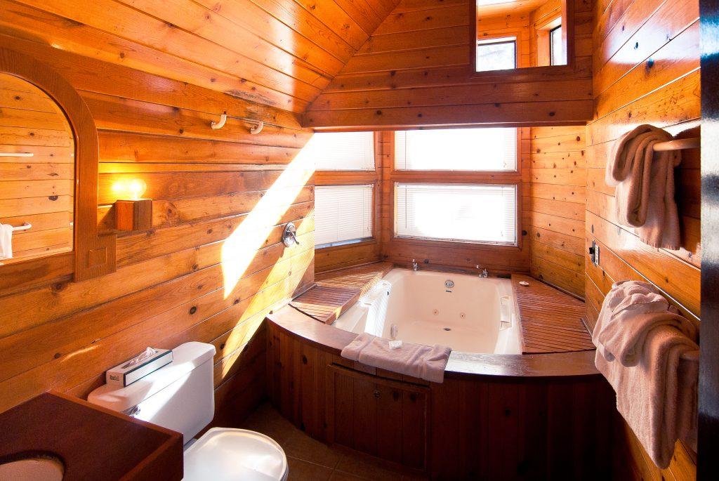 Condominium in a Specific unit indoor jetted Bath Tub