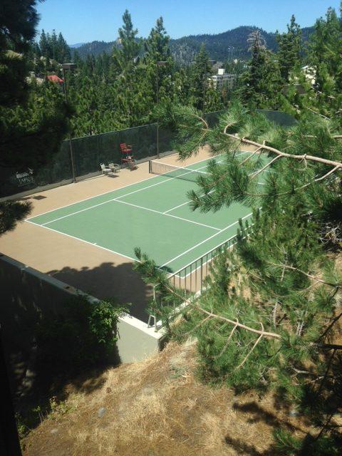 Off Site Ridge Tahoe Tennis Court